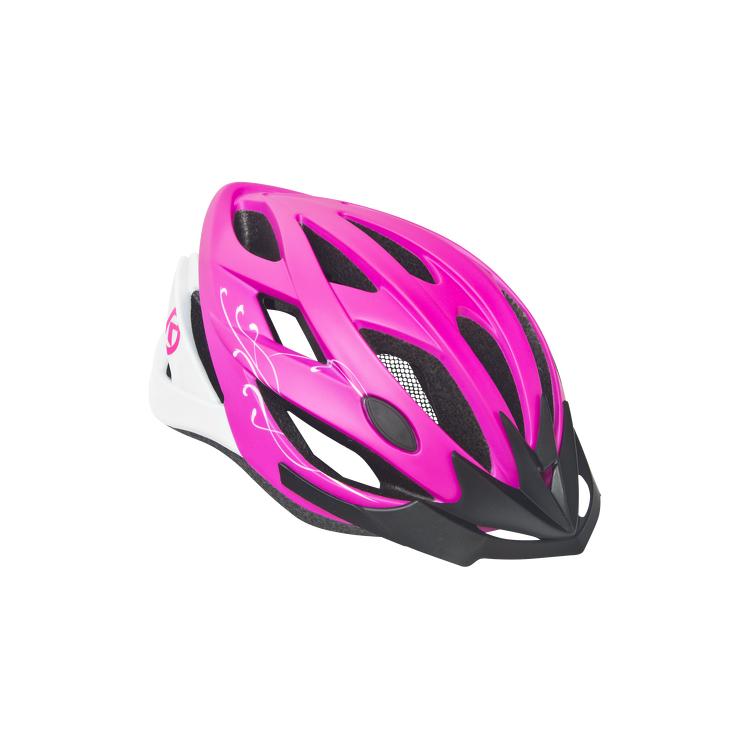 Cyklo přilba Kellys Diva růžová - S/M (56-58)