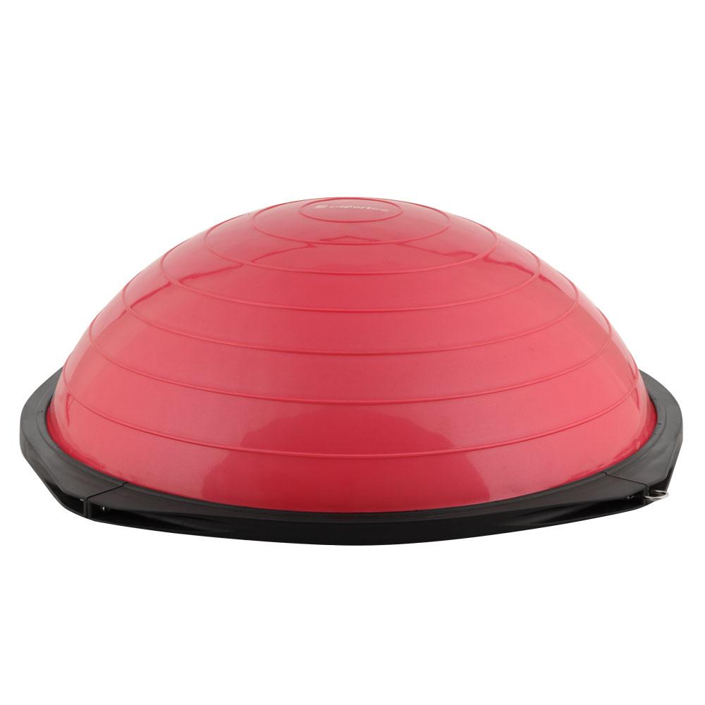 Balanční podložka inSPORTline Dome Advance červená