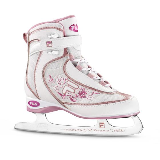 Dámské lední brusle Fila Donna Pink růžová - 38