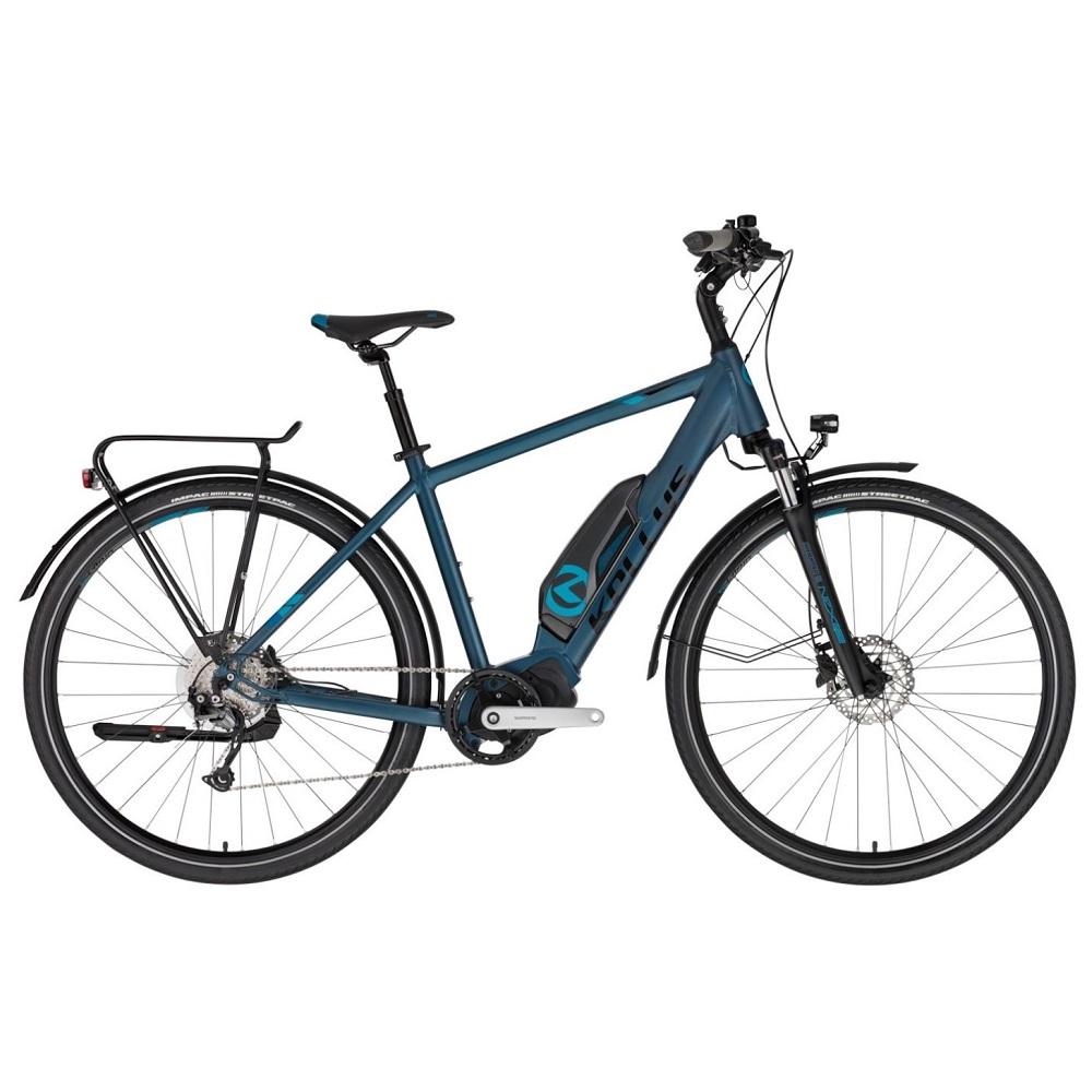 "Trekingové elektrokolo KELLYS E-Carson 50 28"" - model 2020 Blue - M (19'') - Záruka 10 let"