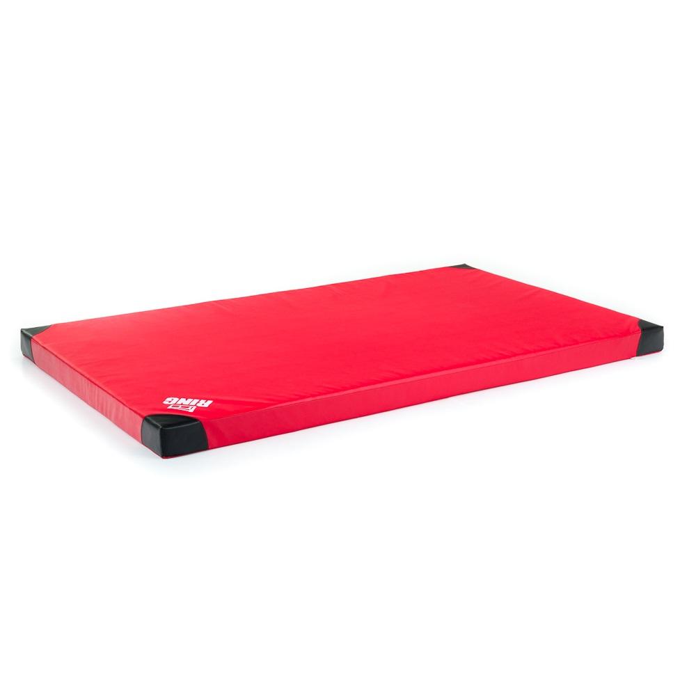 Protiskluzová gymnastická žíněnka inSPORTline Anskida T60 200x120x10 cm červená