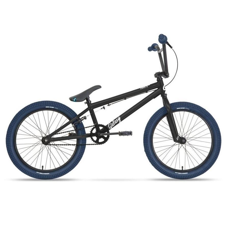 """BMX kolo Galaxy Early Bird 20"""" - model 2021 černá"""