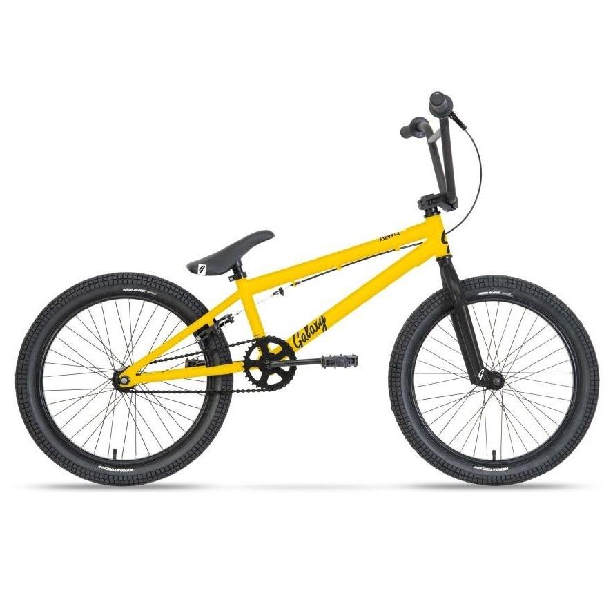 """BMX kolo Galaxy Early Bird 20"""" - model 2021 žlutá"""