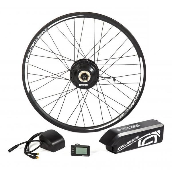 """Elektrosada CRUSSIS pro 27,5"""" kolo, diskové brzdy, rámová baterie"""