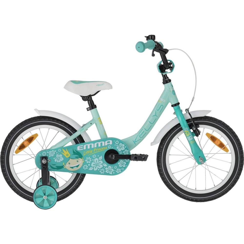 """Dětské kolo KELLYS EMMA 16"""" - model 2021 Menthol - Záruka 10 let"""