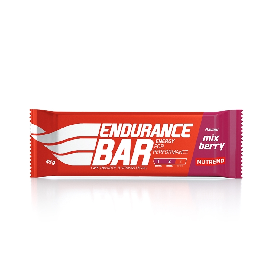 Nutrend Endurance Bar 45 g mix berry