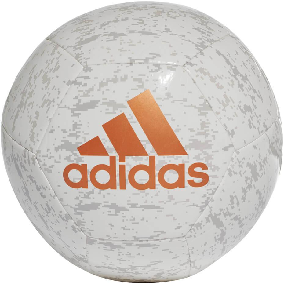 Fotbalový míč Adidas Glider II CF1217 bílo-šedý