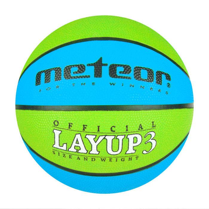 Basketbalový míč Meteor Layup 3