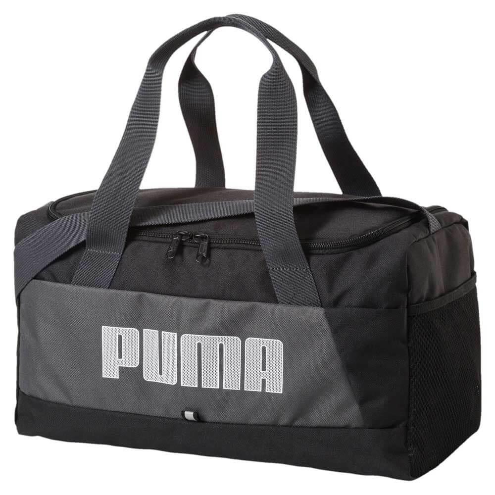 Sportovní taška Puma Fundamentals 0736401 černo-šedá