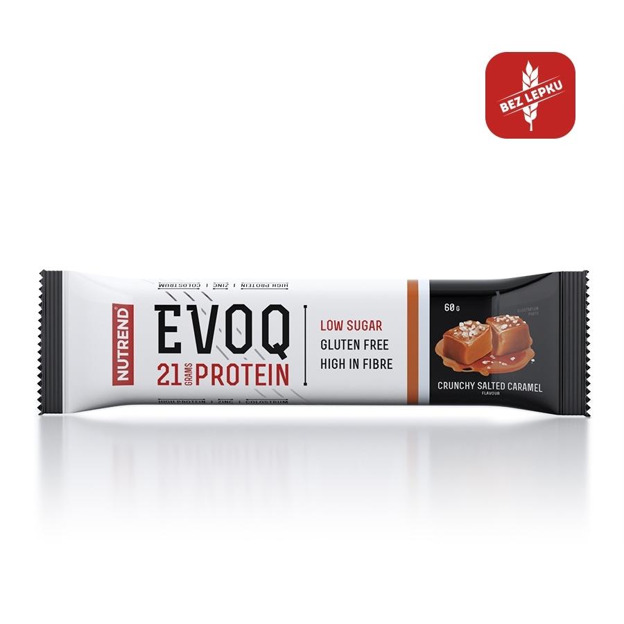 Proteinová tyčinka Nutrend EVOQ 60g slaný karamel