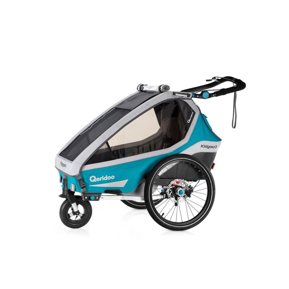 Multifunkční dětský vozík Qeridoo KidGoo 1 Sport Petrol Blue