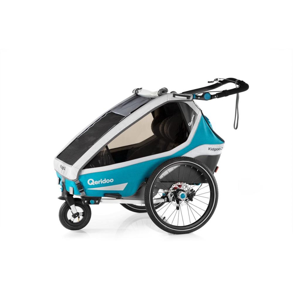 Multifunkční dětský vozík Qeridoo KidGoo 2 Sport Petrol Blue