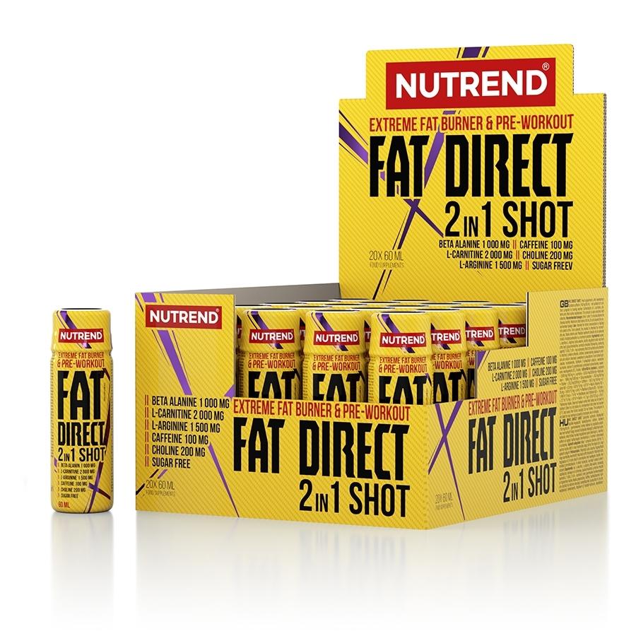 Spalovač Nutrend Fat Direct Shot 20x60 ml Nutrend