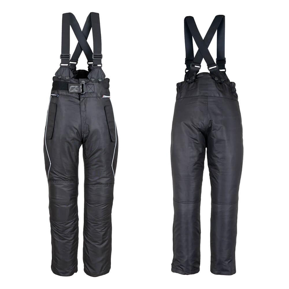 Dětské motocyklové kalhoty ROLEFF Taslan černá - L