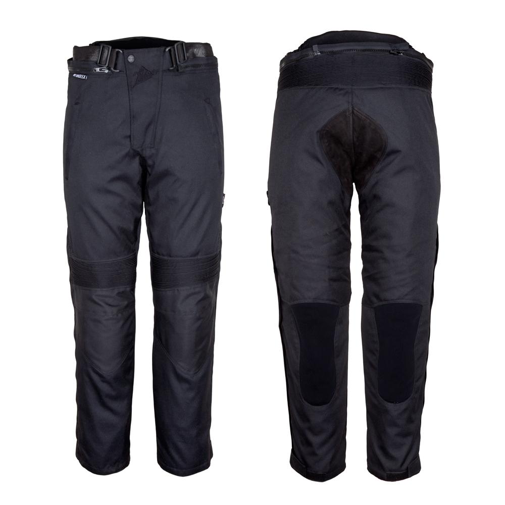 Dámské motocyklové kalhoty ROLEFF Textile černá - S