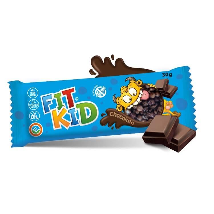 Tyčinka pro děti MAX SPORT Fit Kid 30g čokoláda