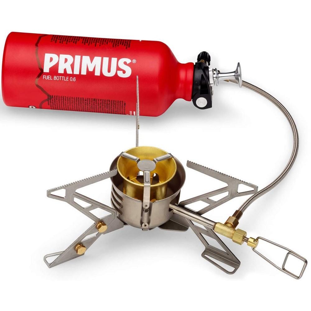 Vařič Primus OmniFuel II s palivovou láhví Bottle & Pouch 0.6l