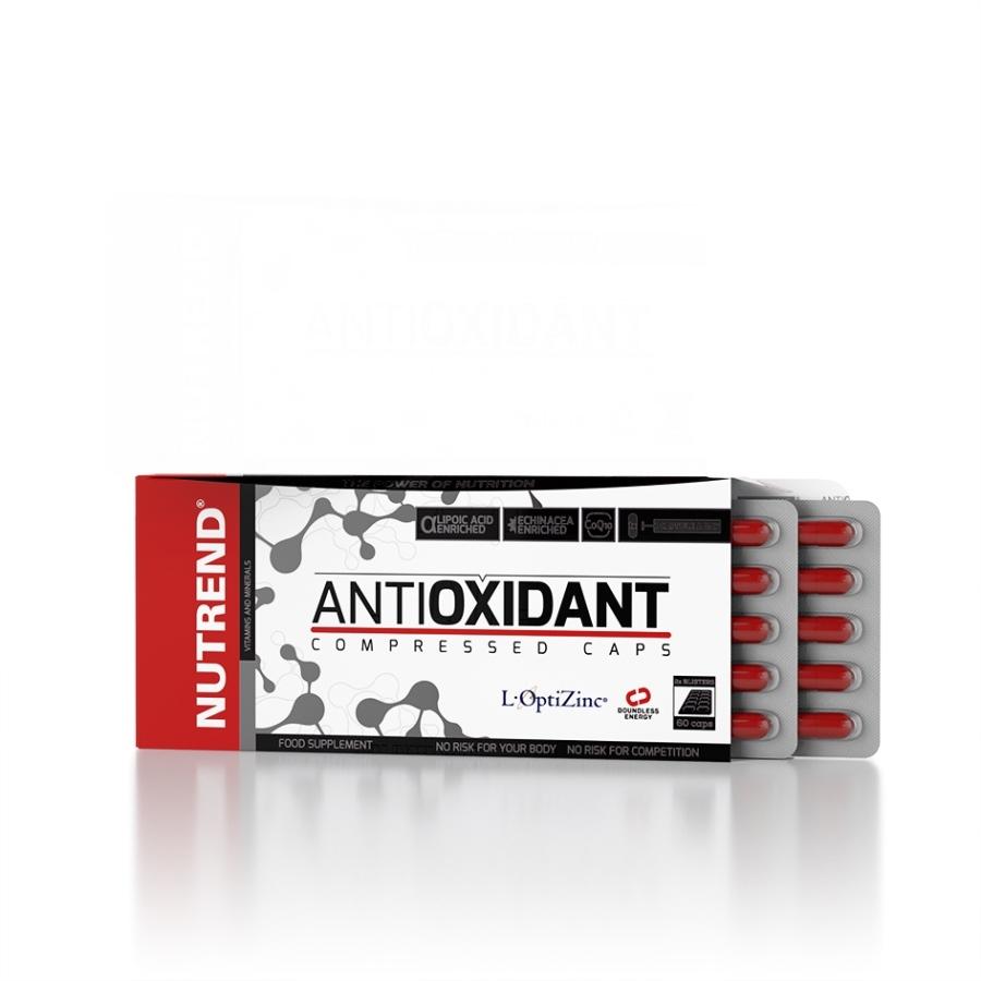 Vitamíny Nutrend Antioxidant Compressed Caps 60 kapslí