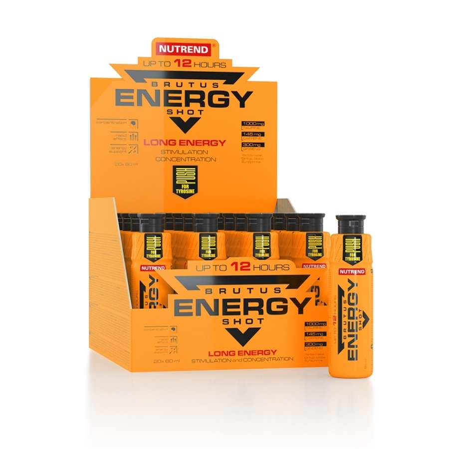 Nutrend Brutus Energy Shot 20x60 ml