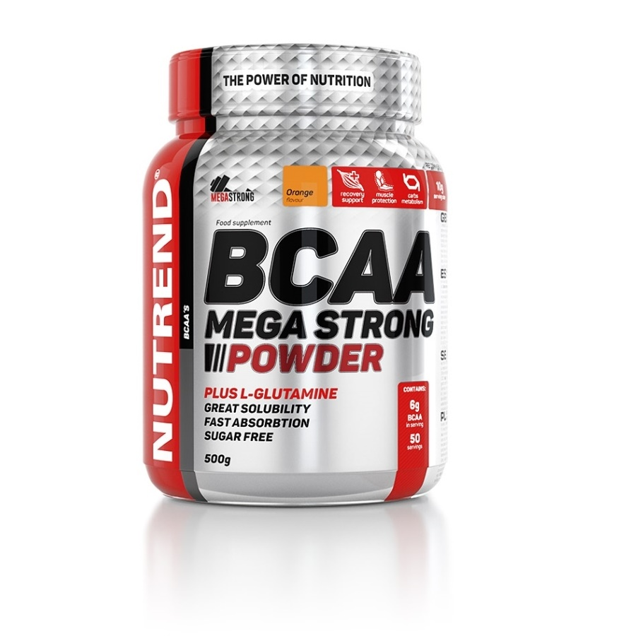 Nutrend BCAA Mega Strong Powder 500 g meloun