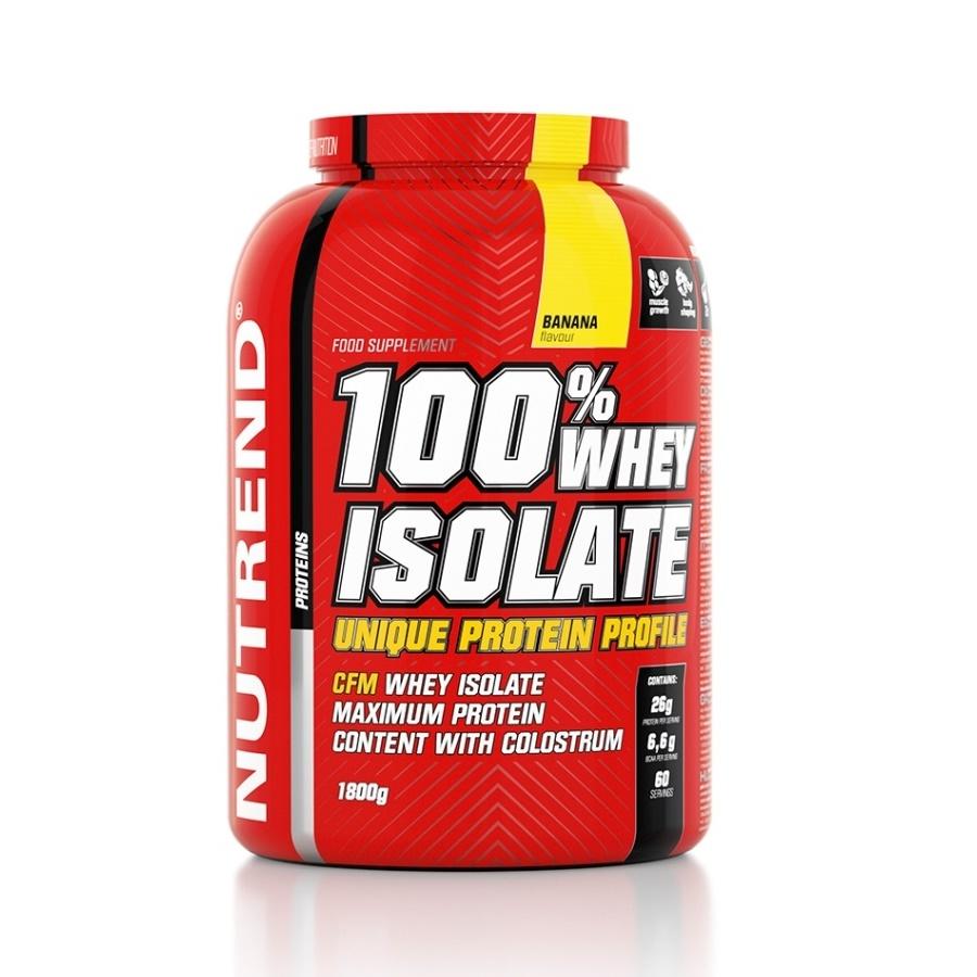 Práškový koncentrát Nutrend 100% WHEY Isolate 1800g vanilka