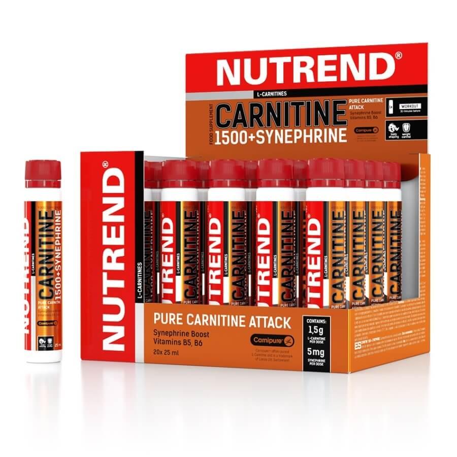 Karnitin Nutrend Carnitine 1500 + Synephrine 20 x 25 ml grep