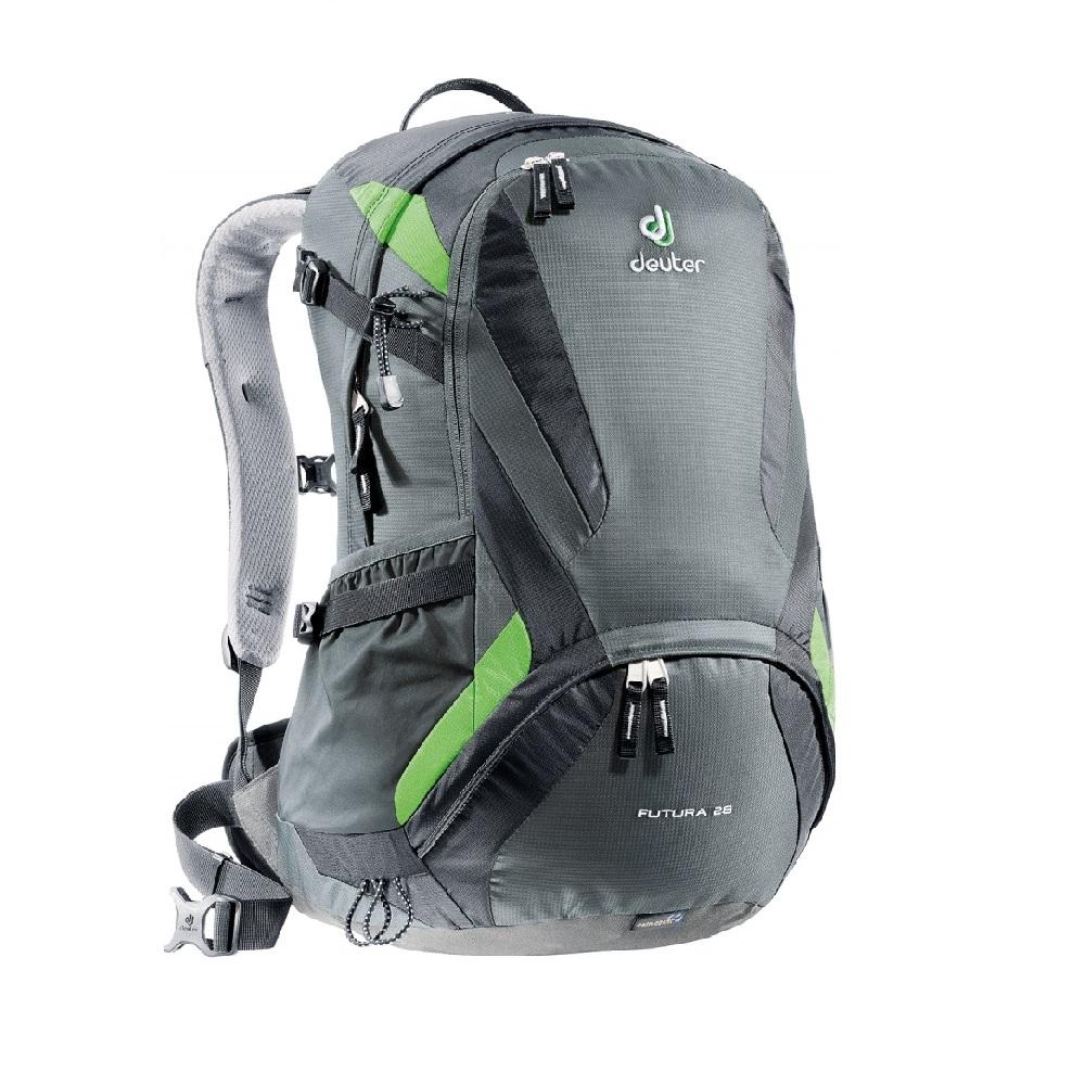 Turistický batoh DEUTER Futura 28 2016 šedo-černá