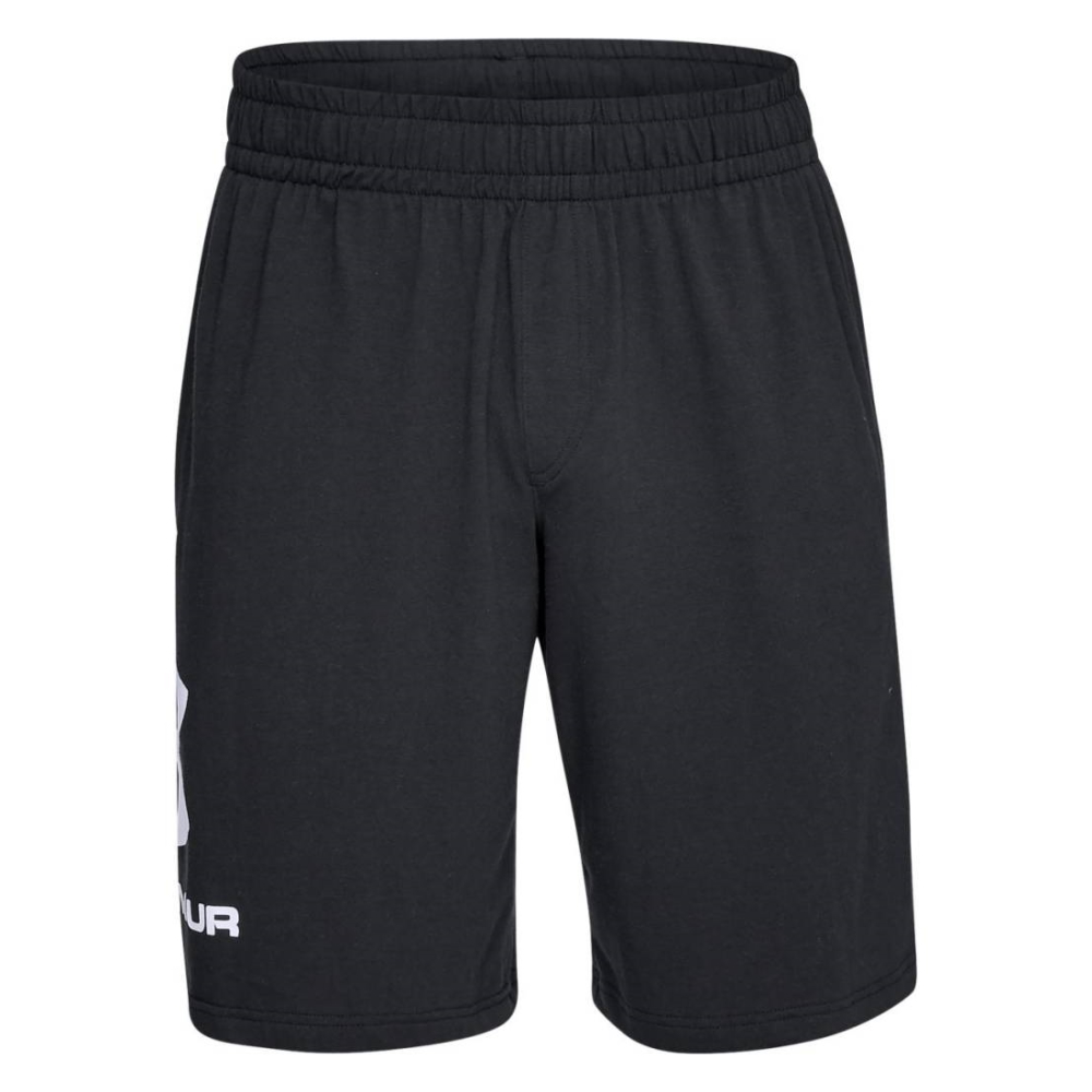 Under Armour Sportstyle Cotton Graphic Short BlackWhite - S