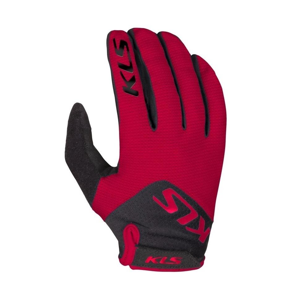 Cyklo rukavice Kellys Range Red - XL