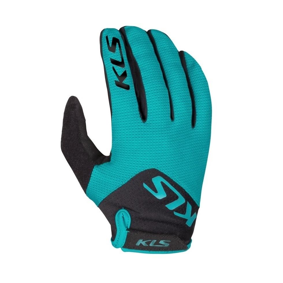 Cyklo rukavice Kellys Range Turquoise - XL