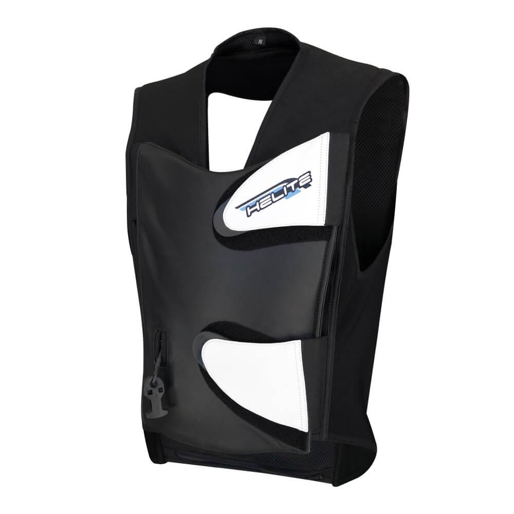 Závodní airbagová vesta Helite GP Air černá - L