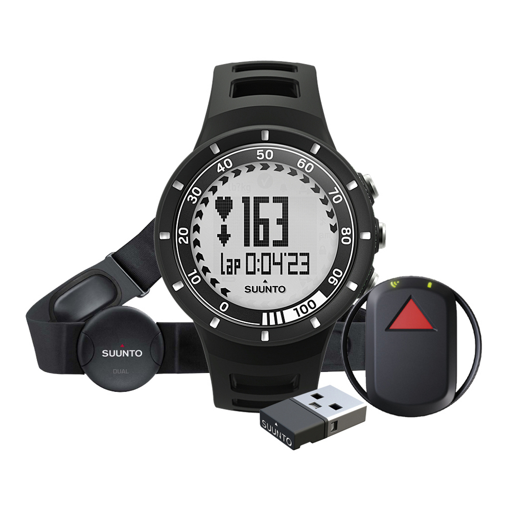 Sporttester Suunto Quest Black GPS Pack