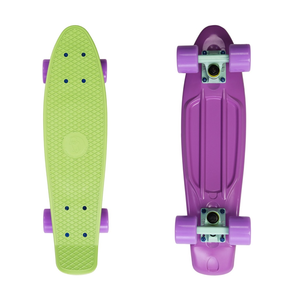"""Penny board Fish Classic 2Colors 22"""" Blue Pink-Summer Green-Summer Purple"""
