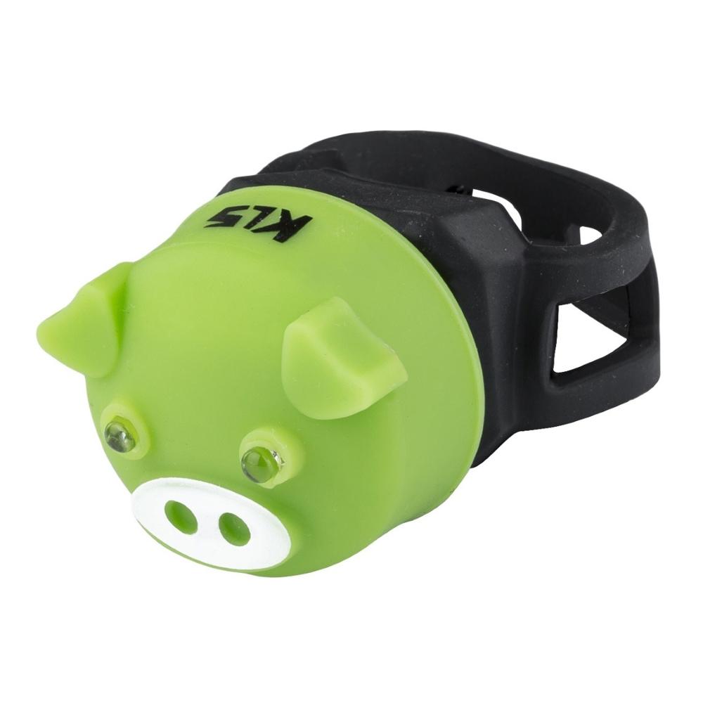 Světlo zadní Kellys Piggy Green