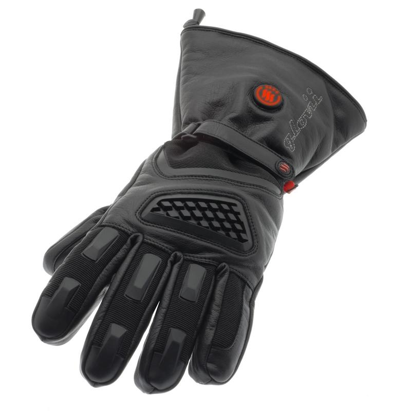 Vyhřívané lyžařské a moto rukavice Glovii GS1 černá - L