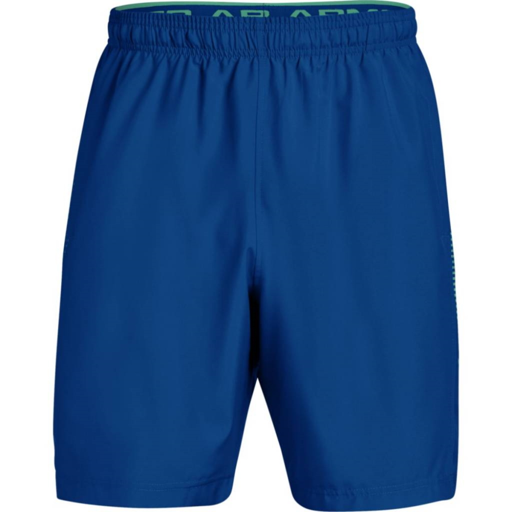 Under Armour Woven Graphic Short RoyalGreen Malachite - XL