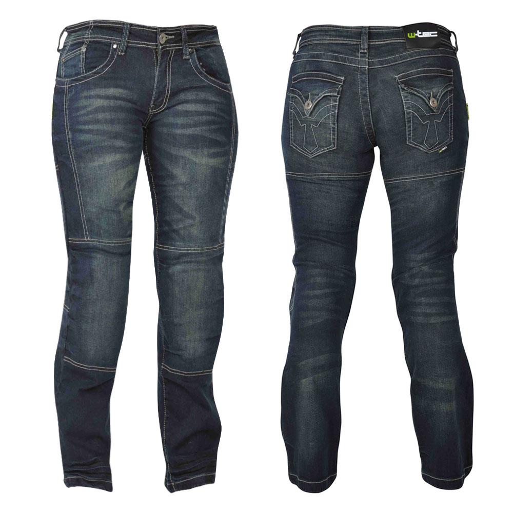 Dámské motocyklové jeansy W-TEC Alinna 18/XL