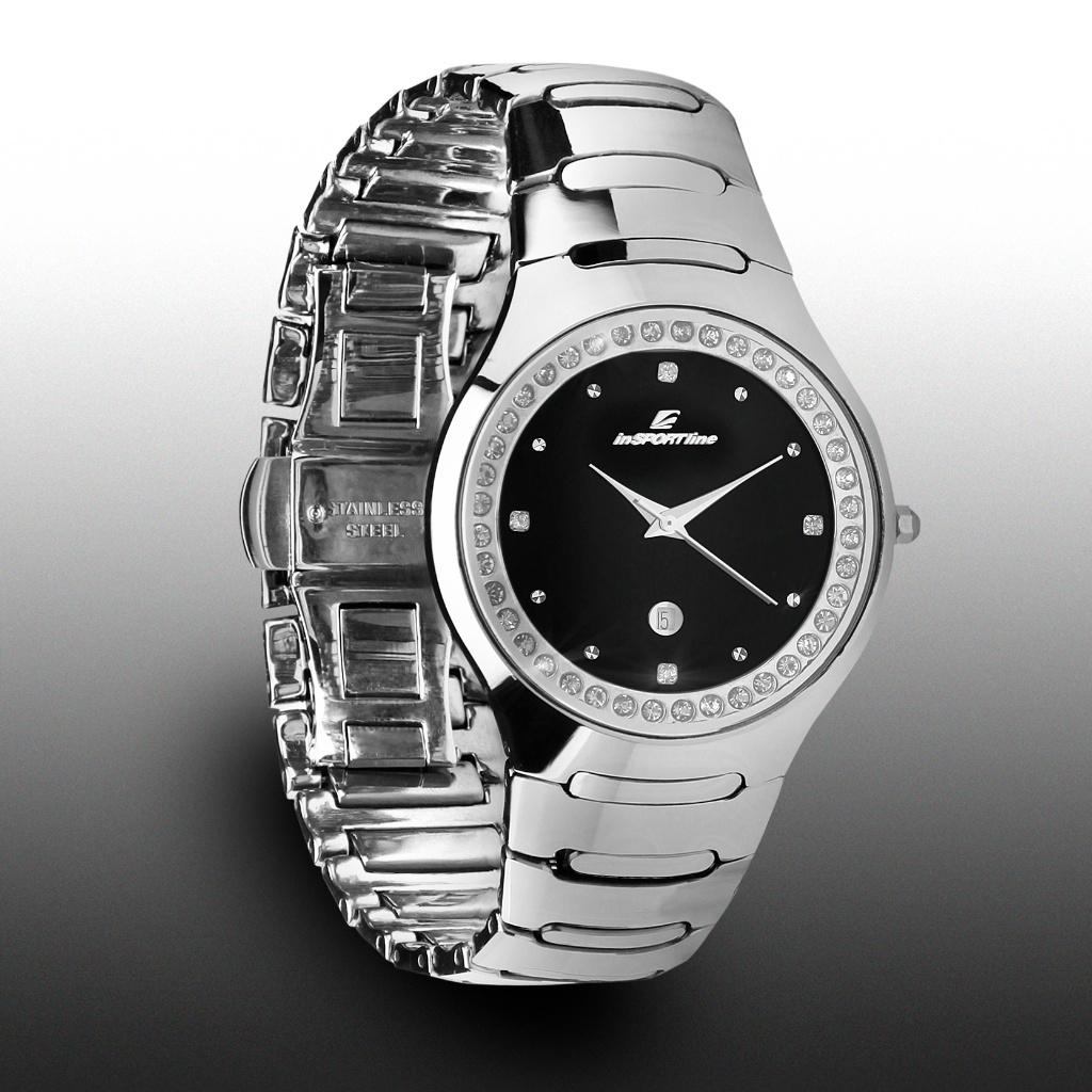 Náramkové hodinky inSPORTline Voyager stříbrná