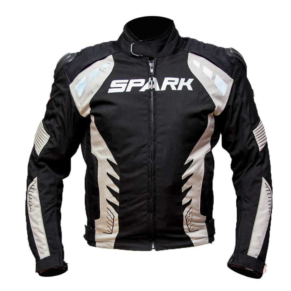Pánská textilní moto bunda Spark Hornet černá - 5XL