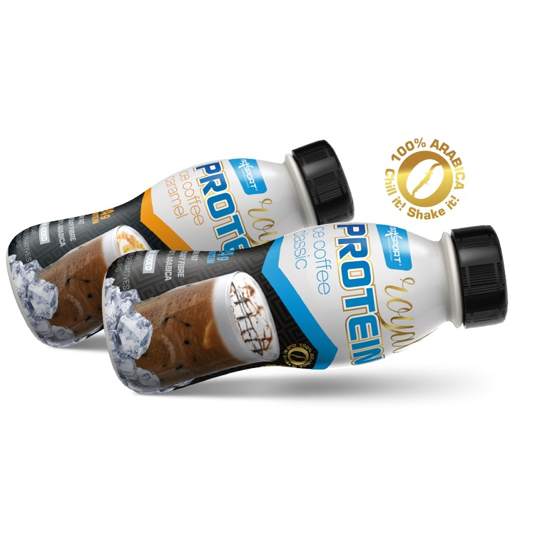 Proteinový nápoj MAX SPORT Royal Ice Coffee classic