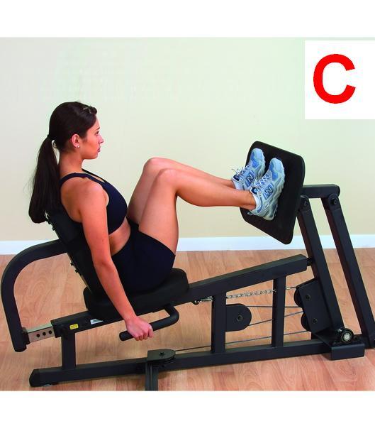 Přídavné zařízení - Leg Press Body-Solid GLP - Servis u zákazníka + Záruka 5 let