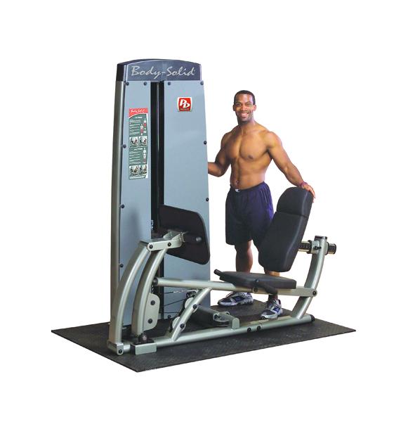 Posilovací stroj na stehna - Body-Solid Pro-Dual DCLP-SF Leg Press - Záruka 10 let + Montáž zdarma + Servis u zákazníka