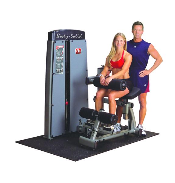 Posilovací stroj na břicho/záda - Body-Solid Pro-Dual DABB-SF Ab Crunch/Back extension - Záruka 10 let + Montáž zdarma + Servis u zákazníka