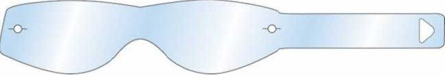 Náhradní folie na moto brýle UNI - 10ks