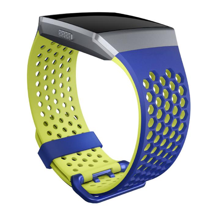 Náhradní řemínek Fitbit Ionic Cobalt/Lime L