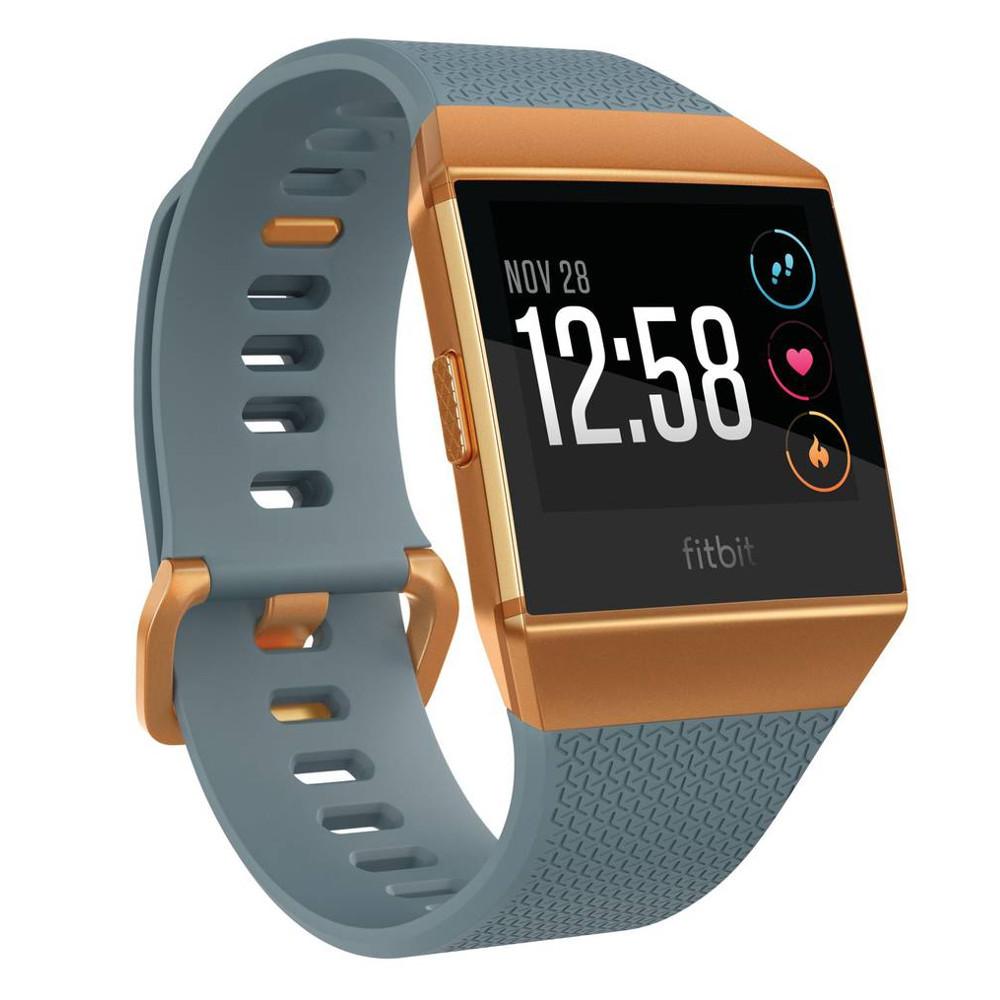 Chytré hodinky FITBIT Ionic Slate Blue/Burnt Orange