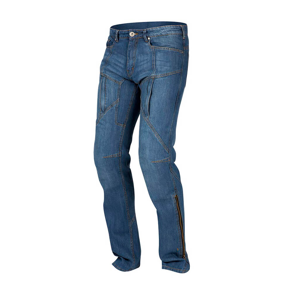 Pánské jeansové moto kalhoty REBELHORN Hawk modrá - 32
