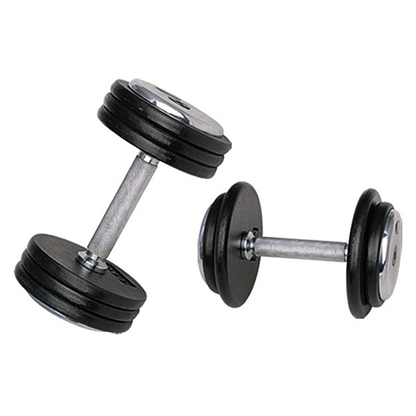 Jednoruční činka inSPORTline ProfiST 45 kg