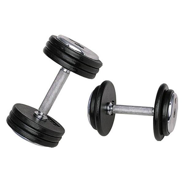 Jednoruční činka inSPORTline ProfiST 12,5 kg