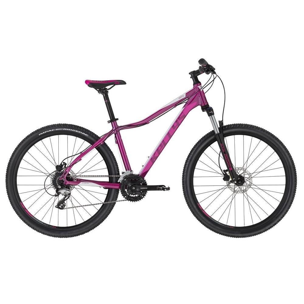 """Dámské horské kolo KELLYS VANITY 50 27,5"""" - model 2020 Pink - S (15"""") - Záruka 10 let"""